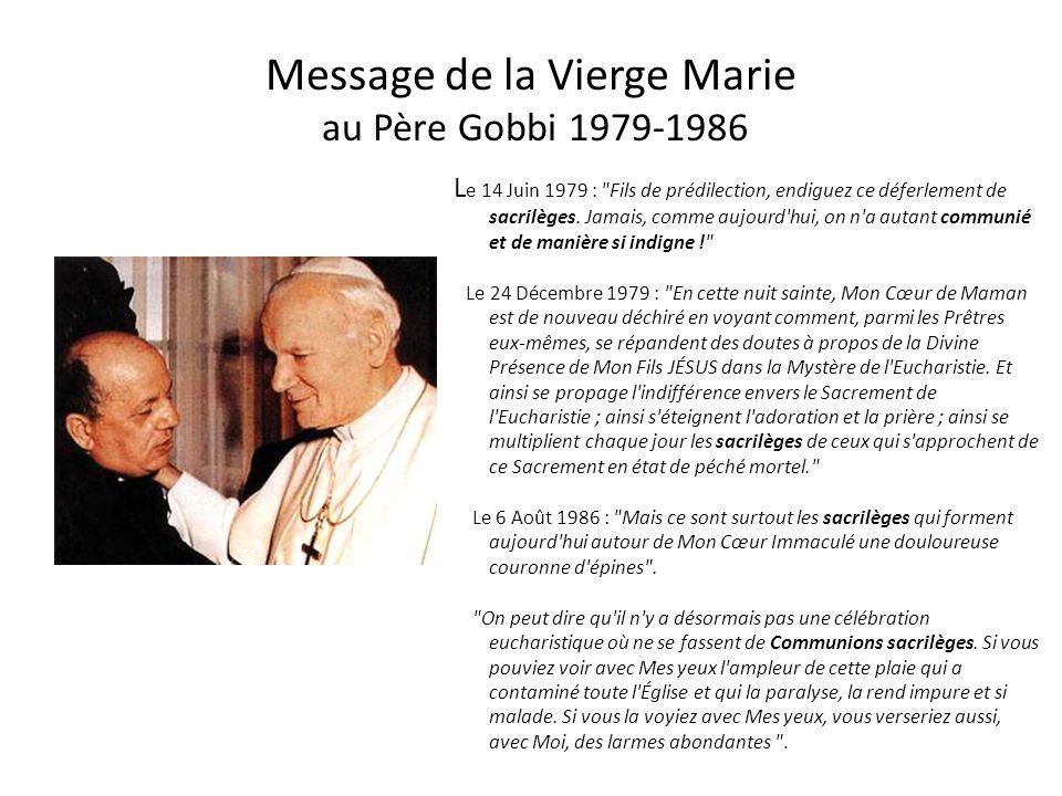 Message de Jésus – âme mystique de Belgique 7 juin 1979 - - - - - - - - - - - -