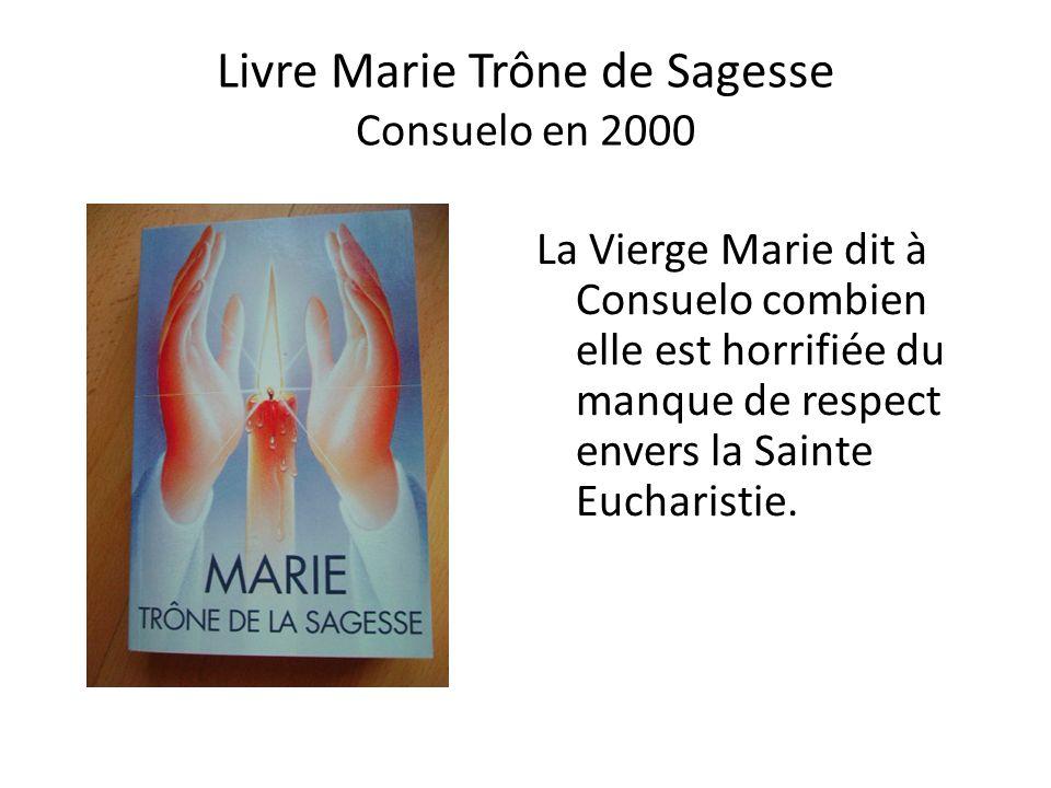 Message de Jésus à une âme mystique en France 1995-99 Le 25 Mai 1995 : « C'est la désolation de l'abomination, la désinvolture avec laquelle Mes minis
