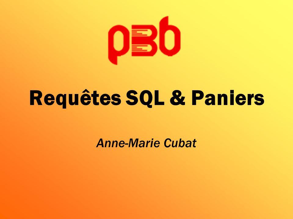 Ensuite, configurer les paramètres 1/2 États personnalisables : requêtes SQL A noter : une requête peut en appeler une autre Noubliez pas denregistrer le tout .