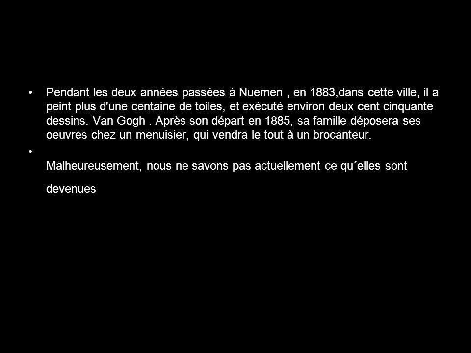 En mars 1987 le très lumineux tableau, Les Tournesols a été vendu pour 39,9 millions de dollars.