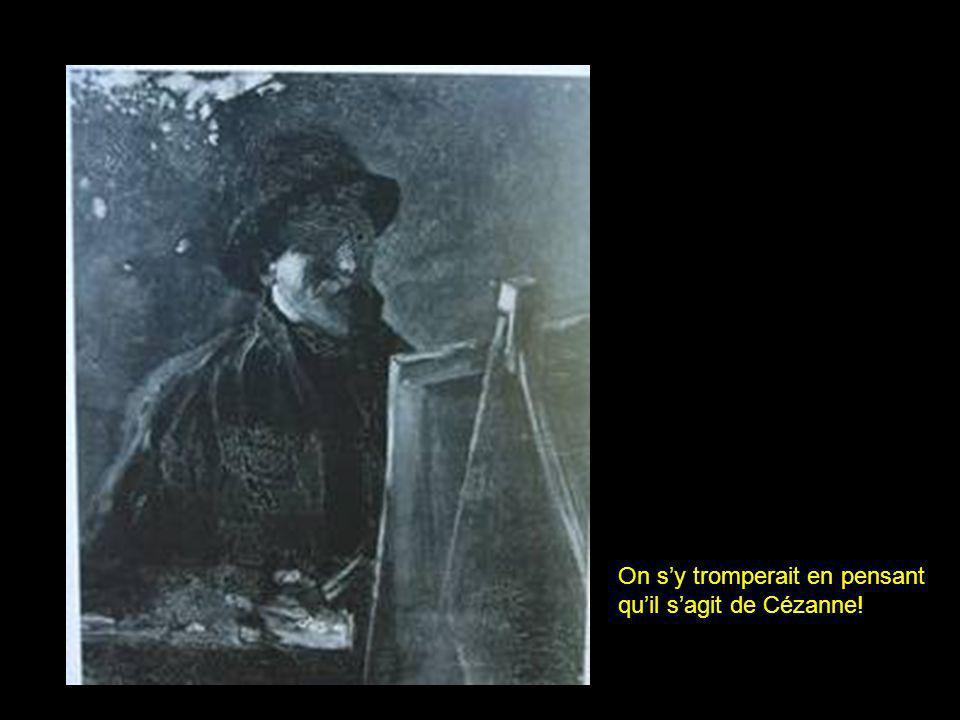 Paris, été 1887 Je me sens triste de ce que même en cas de succès, la peinture ne rapportera pas ce quelle coûte.