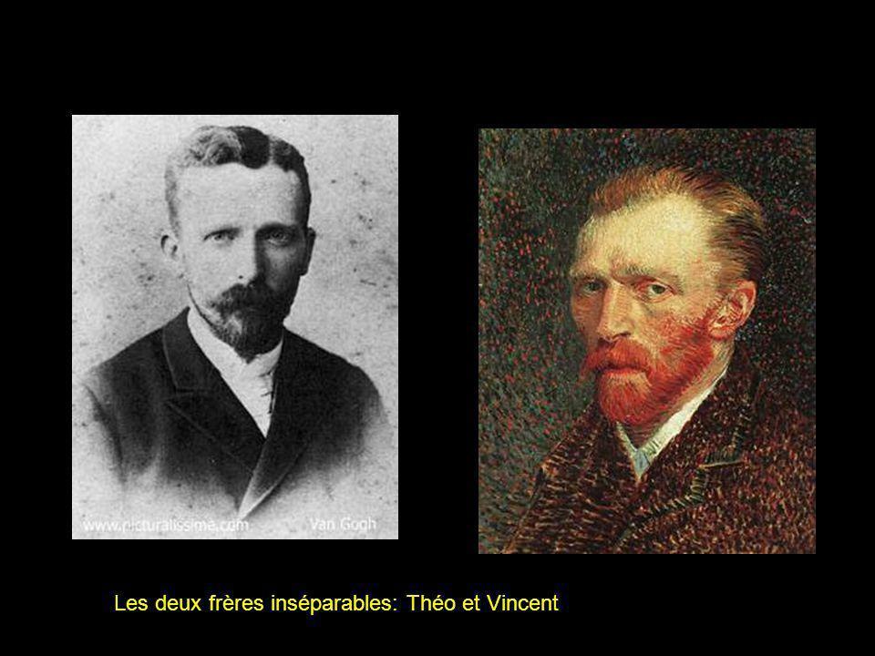 Les deux frères inséparables: Théo et Vincent