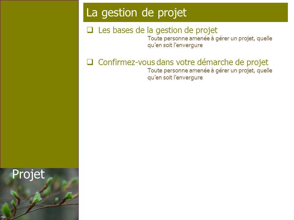 Page 16 T élé p rofil La gestion de projet Les bases de la gestion de projet Toute personne amenée à gérer un projet, quelle quen soit lenvergure Conf