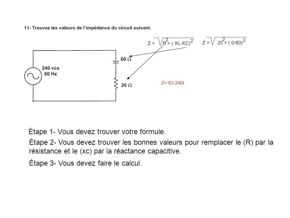 Étape 1- Vous devez trouver votre formule pour linductance équivalente.