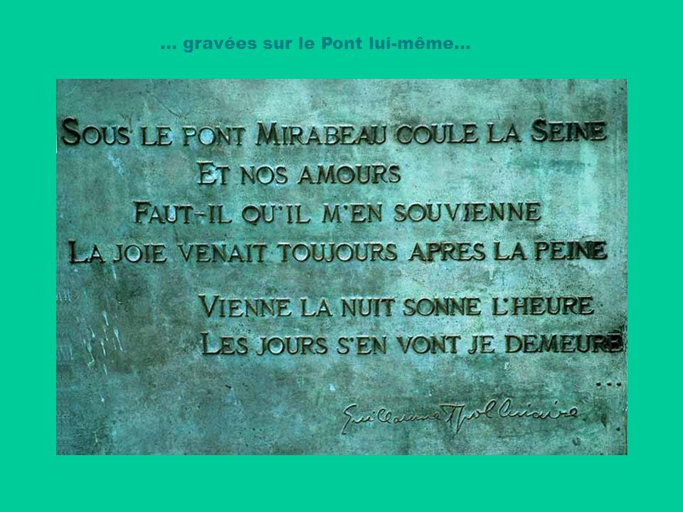 Guillaume APOLLINAIRE fut grièvement blessé à la tête pendant la première guerre mondiale. Très affaibli, il mourut en 1918 de la grippe espagnole. Ma