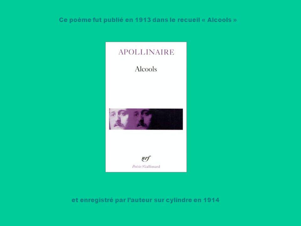 Guillaume Apollinaire et le peintre Marie Laurencin eurent une liaison de plusieurs années qui prit fin en 1913 Les amants empruntaient souvent à Paris le pont Mirabeau dun domicile à lautre …