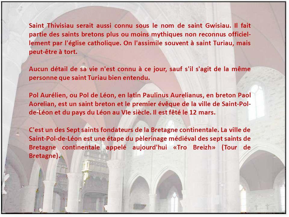 Saint ThivisioSaint Pol de Léon