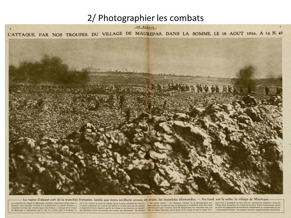 2/ Photographier les combats