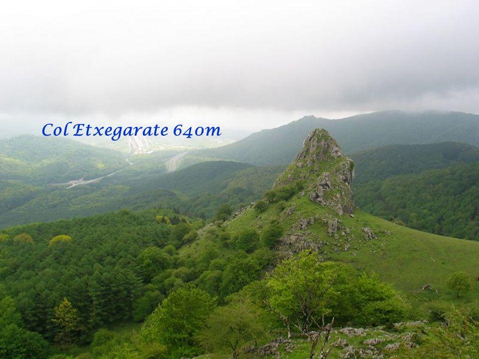 Col Etxegarate 640m