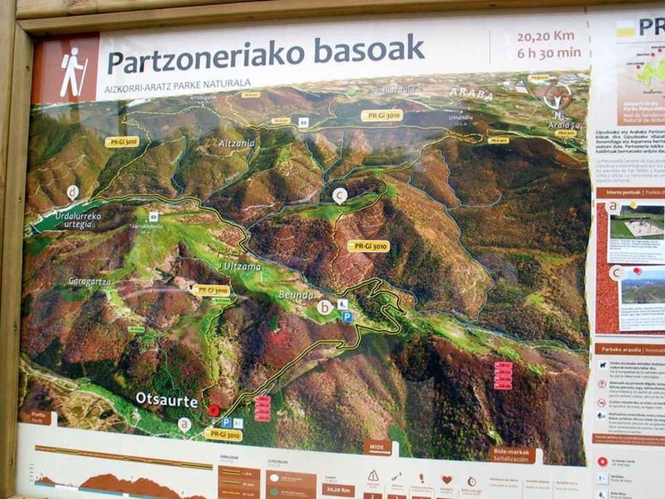 Sierra de Aizkorri Col dOtzaurte