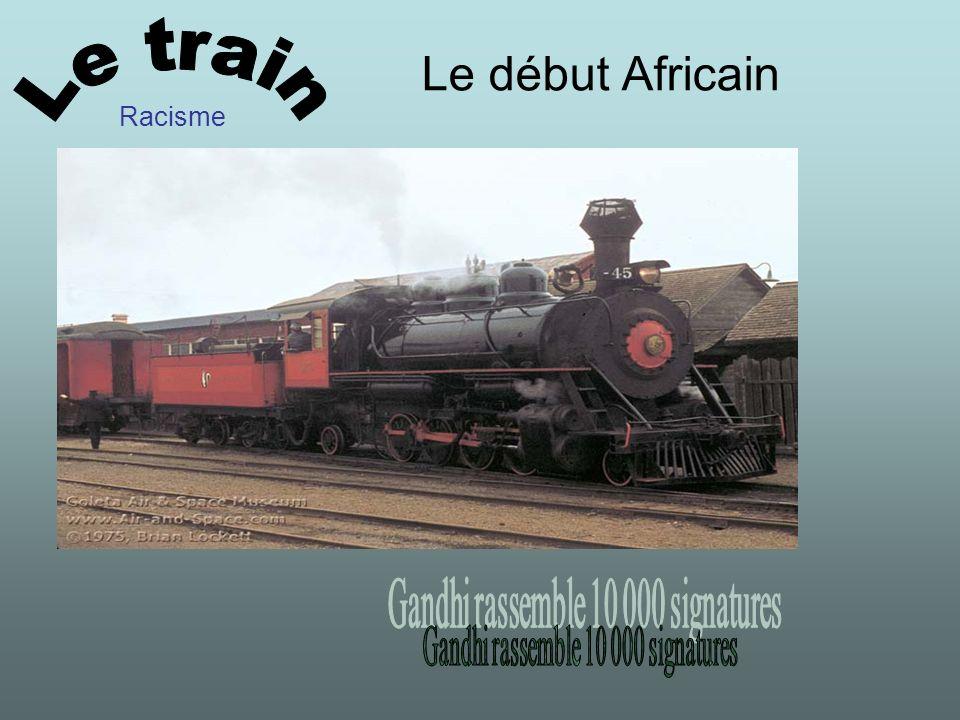 Le début Africain Racisme