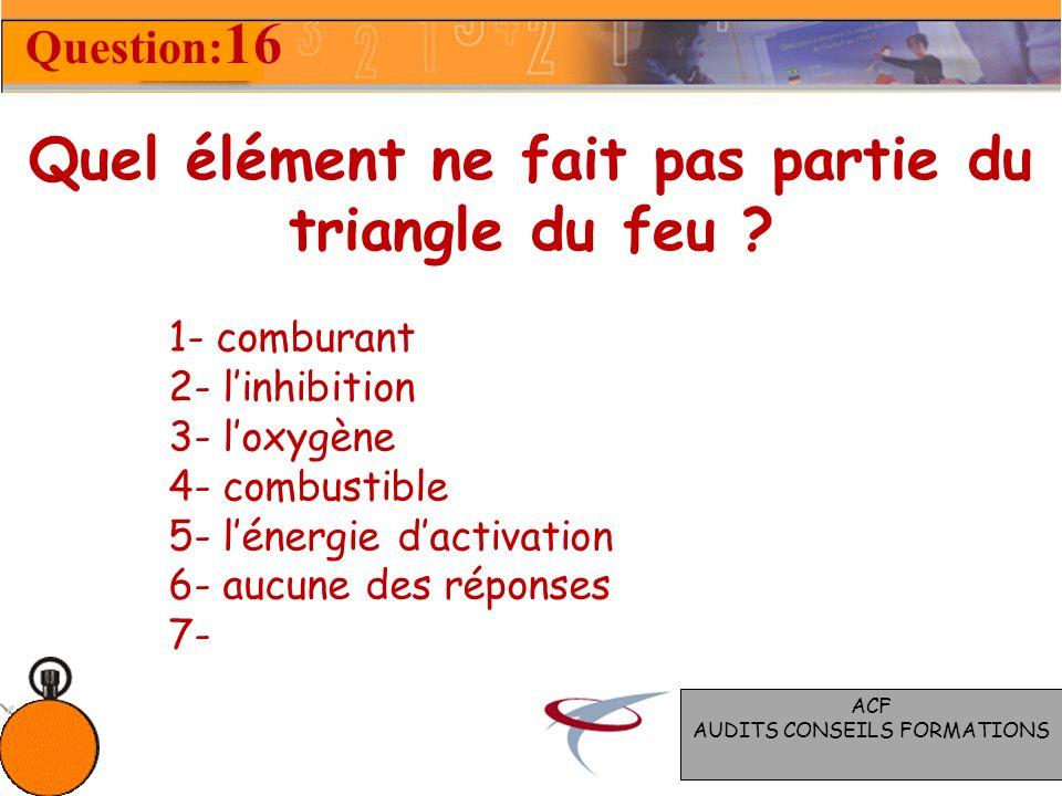 Quelles est la surface maximale Dun compartiment ? Question: 15 1- 1000 m² 2- 1500 m² 3- 2000 m² 4- 2500 m² 5- Aucune réponse 6- Sans avis 7- ACF AUDI