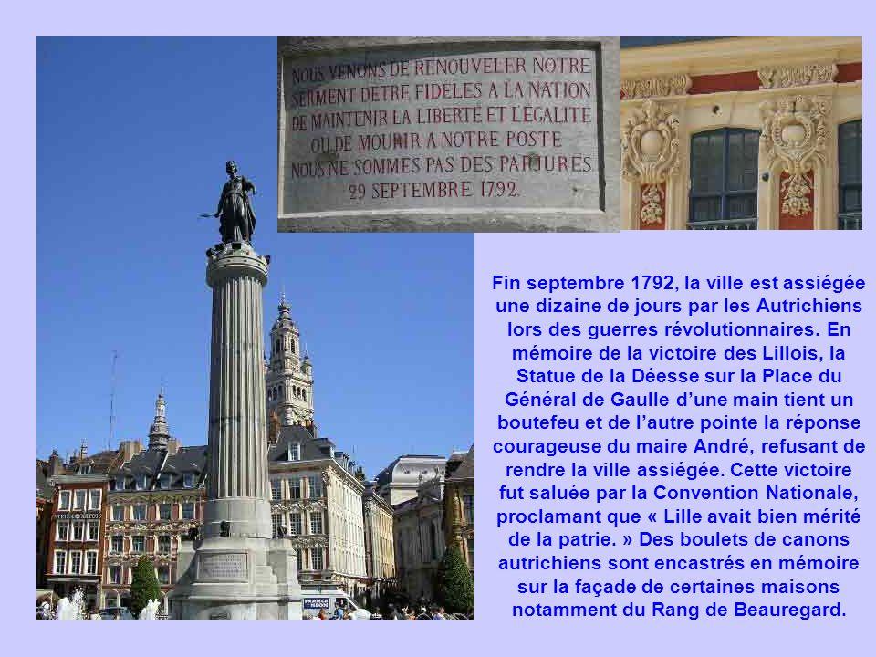 Fin septembre 1792, la ville est assiégée une dizaine de jours par les Autrichiens lors des guerres révolutionnaires. En mémoire de la victoire des Li