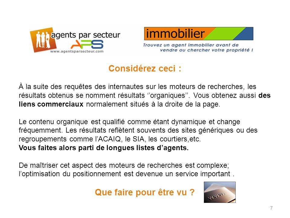 agentsparsecteur.comagentsparsecteur.com a plusieurs blogues spécifiques à limmobilier.