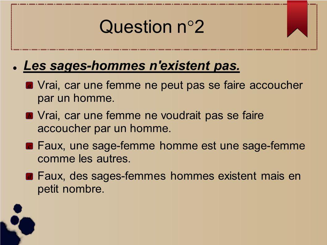 Il n a jamais été interdit en France de se faire accoucher par un homme...