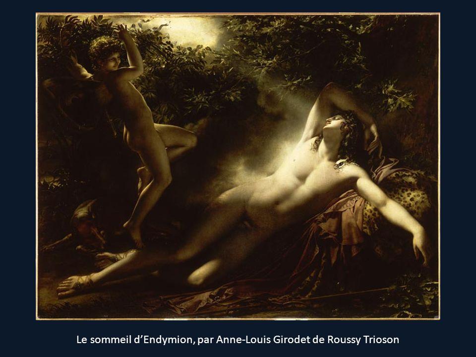 Le sommeil dEndymion, par Anne-Louis Girodet de Roussy Trioson