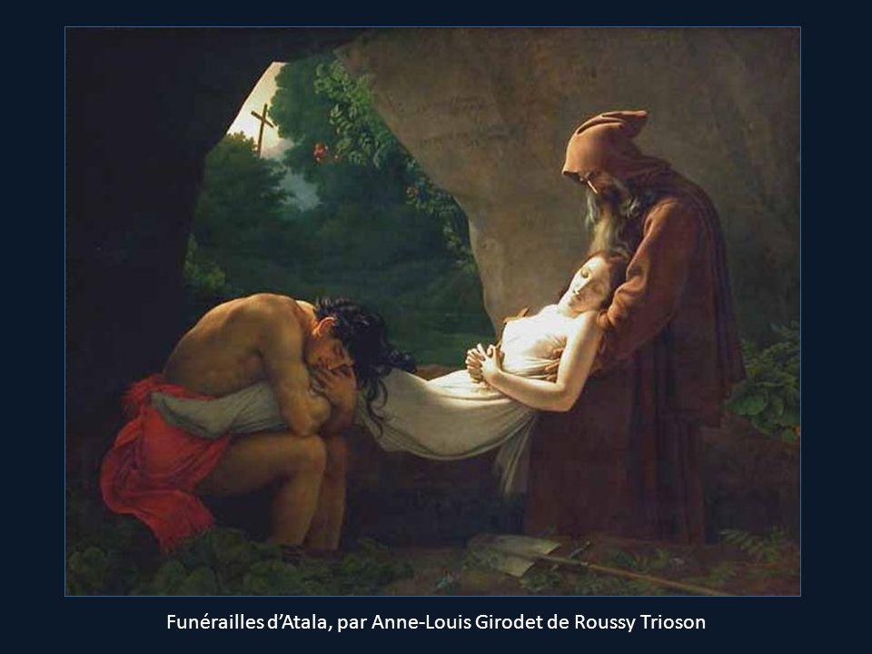 Funérailles dAtala, par Anne-Louis Girodet de Roussy Trioson