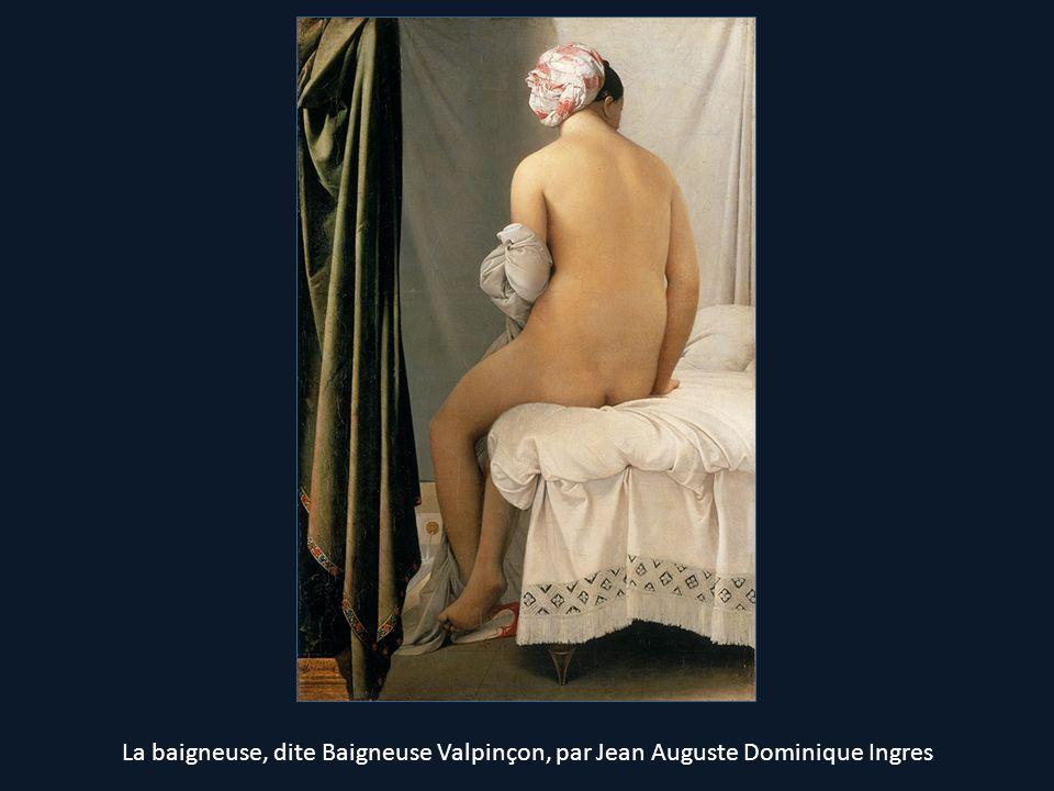 La baigneuse, dite Baigneuse Valpinçon, par Jean Auguste Dominique Ingres