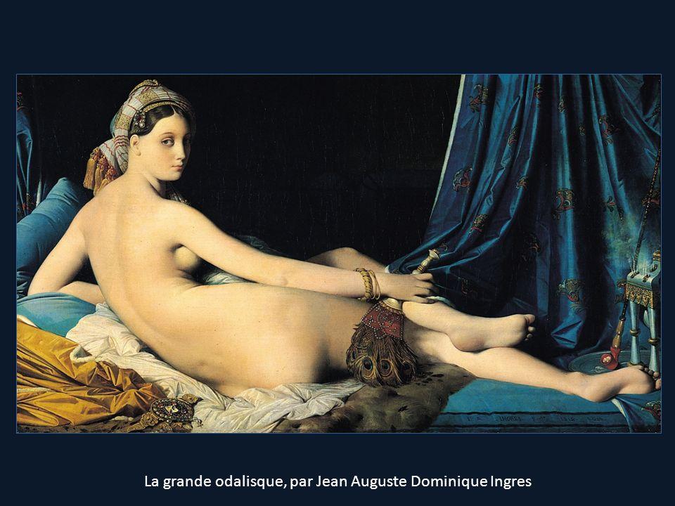 La grande odalisque, par Jean Auguste Dominique Ingres