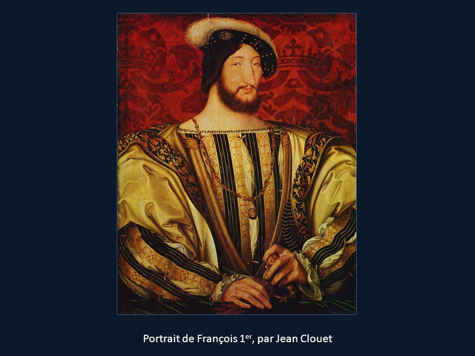Portrait de François 1 er, par Jean Clouet