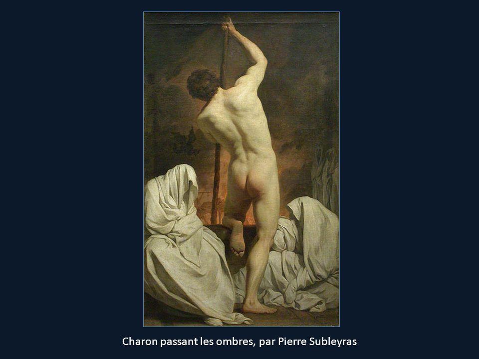 Charon passant les ombres, par Pierre Subleyras