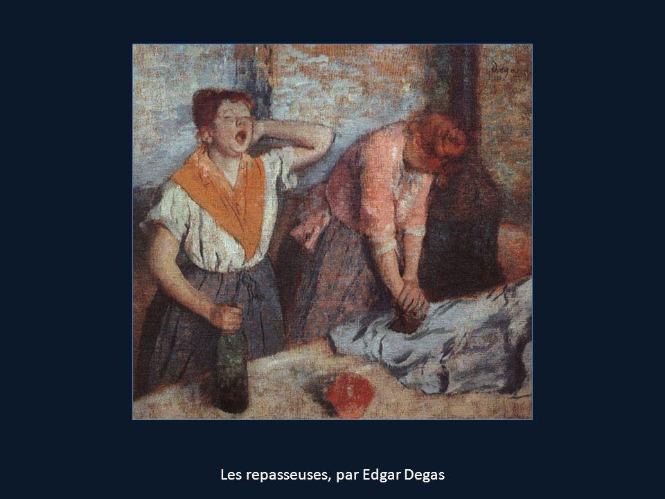 Les repasseuses, par Edgar Degas