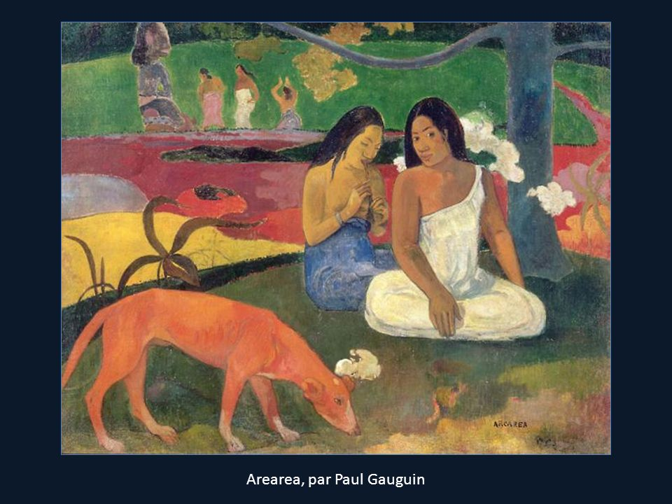 Arearea, par Paul Gauguin
