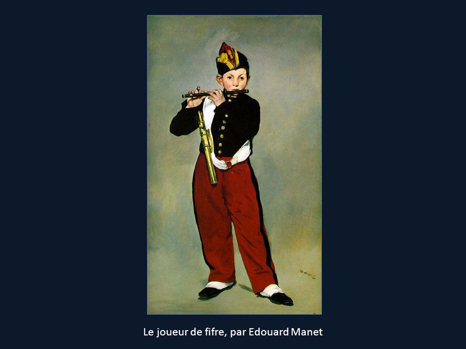 Le joueur de fifre, par Edouard Manet