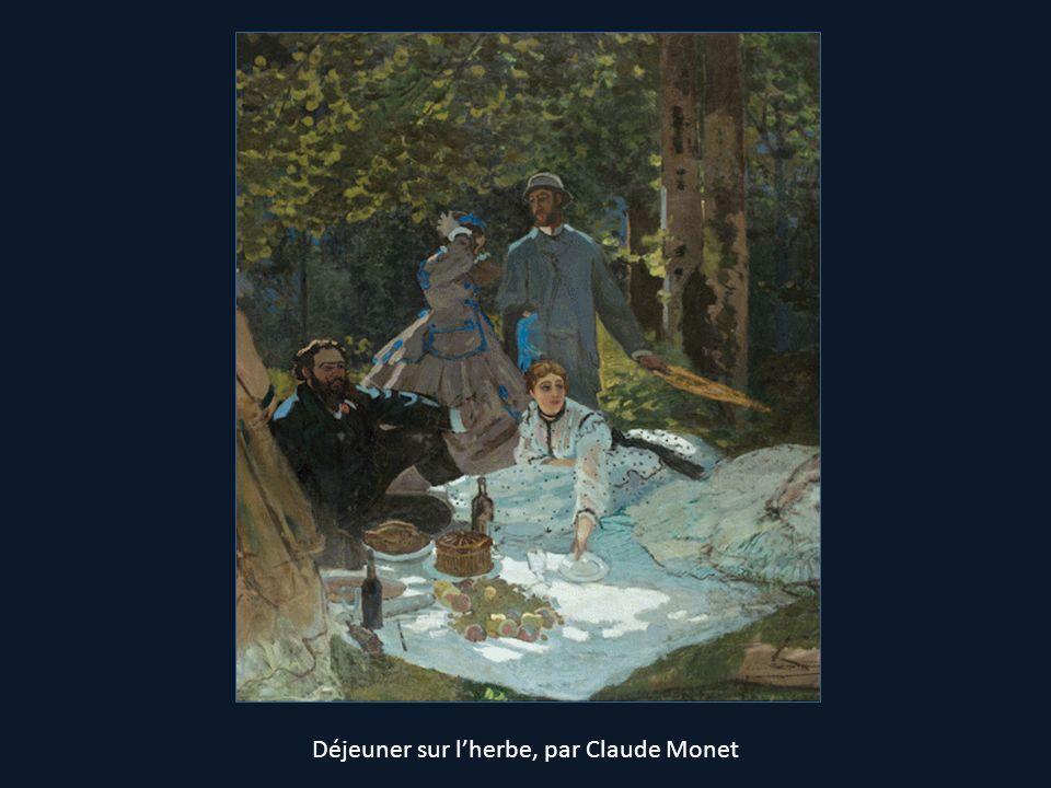 Déjeuner sur lherbe, par Claude Monet