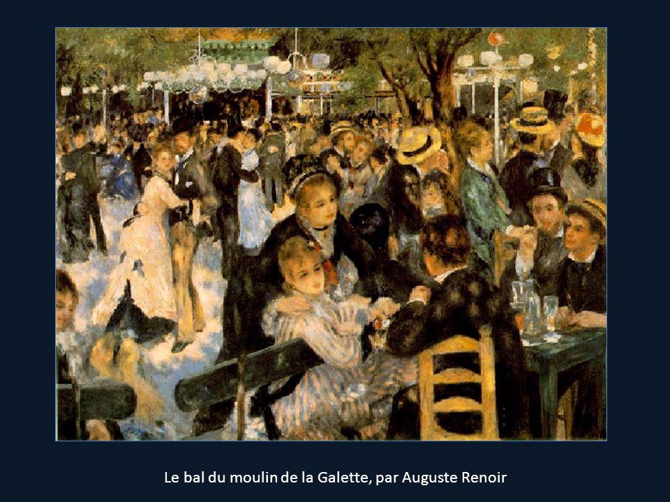 Le bal du moulin de la Galette, par Auguste Renoir