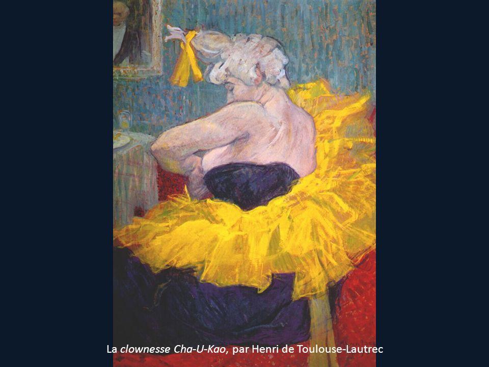 La clownesse Cha-U-Kao, par Henri de Toulouse-Lautrec