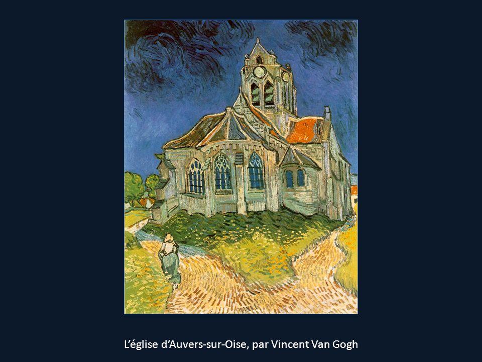 Léglise dAuvers-sur-Oise, par Vincent Van Gogh