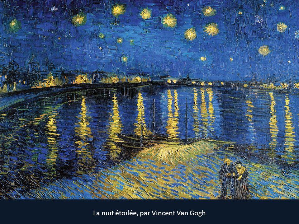 La nuit étoilée, par Vincent Van Gogh
