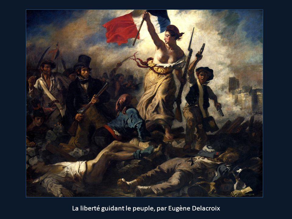 La liberté guidant le peuple, par Eugène Delacroix