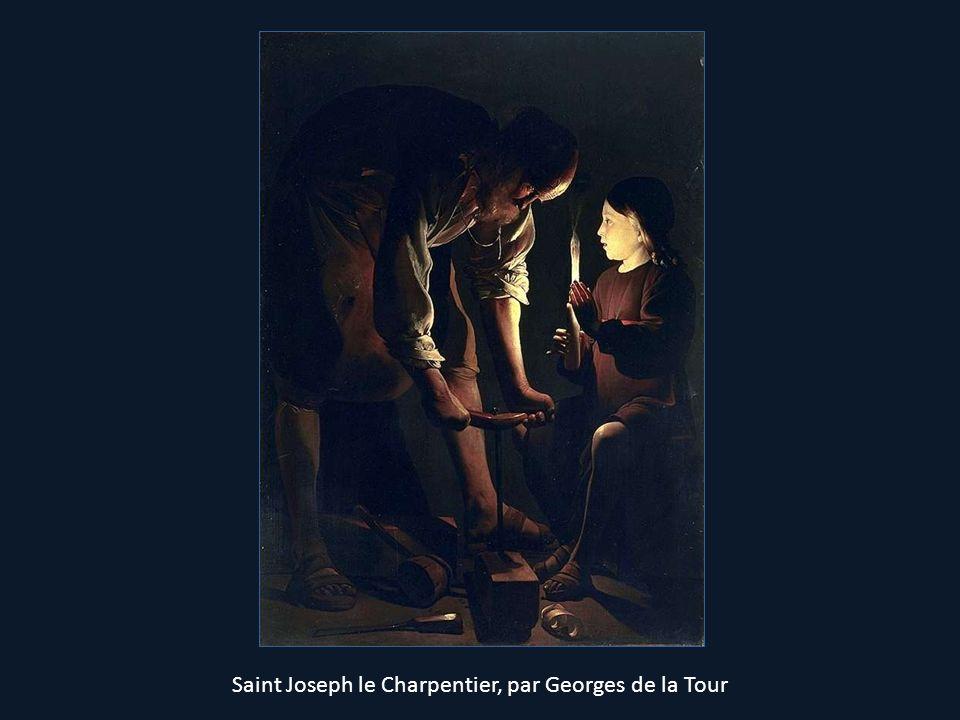 Saint Joseph le Charpentier, par Georges de la Tour