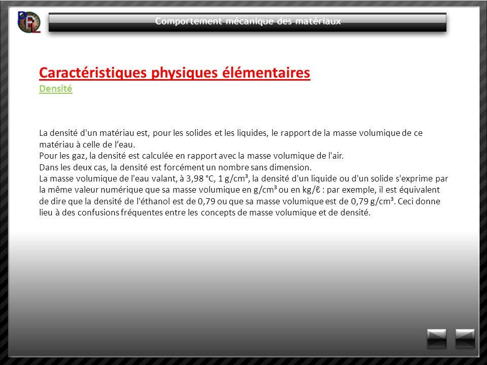 Caractéristiques mécaniques Résistance à la rupture (essai de résilience) Calcul de la résistance Kcv KcV (J/cm²) = W/S Avec :W en Joules et S en cm² Différents types d éprouvettes CHARPY V Normales (55x10x10) :Surface de rupture :0,8 cm² Réduites (55x7,5x10) :Surface de rupture :0,6 cm² Réduites (55x5x10) : Surface de rupture :0,4 cm²