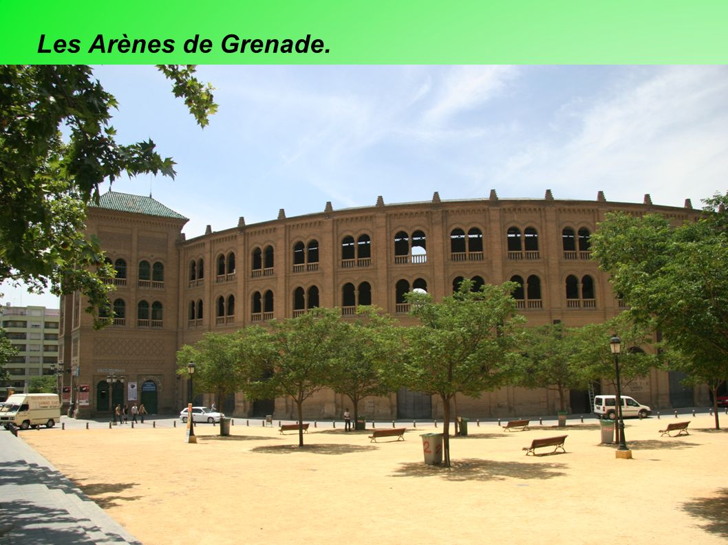 Les Arènes de Grenade.