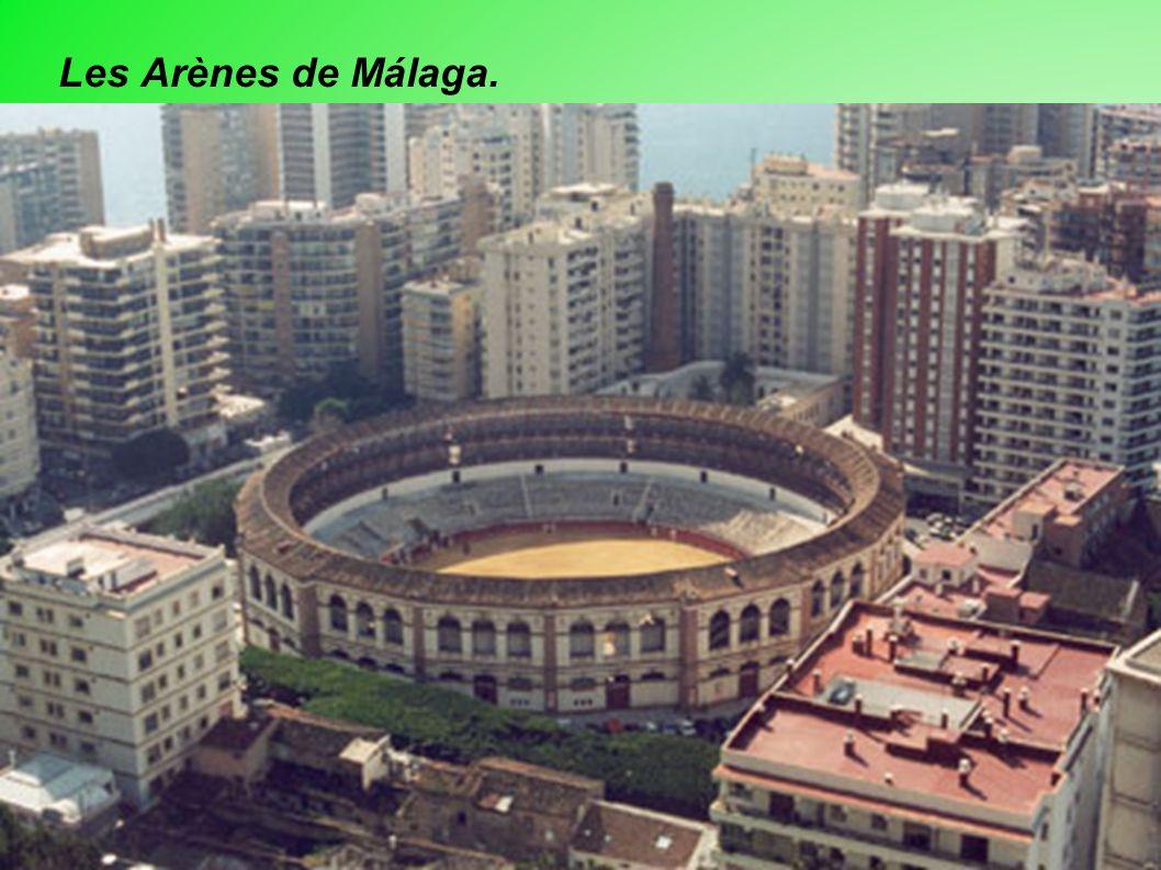 Les Arènes de Málaga.