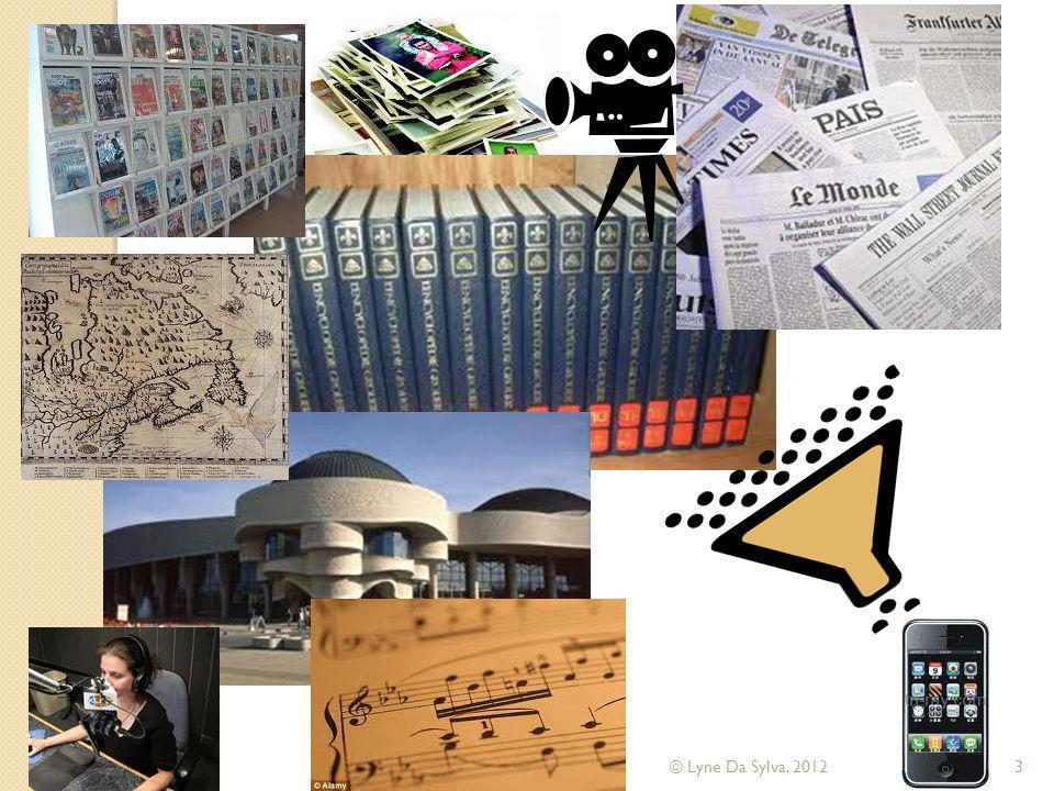 Dimensions/axes de recherche Bibliothèques numériques ressources (collections) technologiedroitsociologieéconomie communication linguistiqueculture éducation © Lyne Da Sylva, 201284 Réalisations