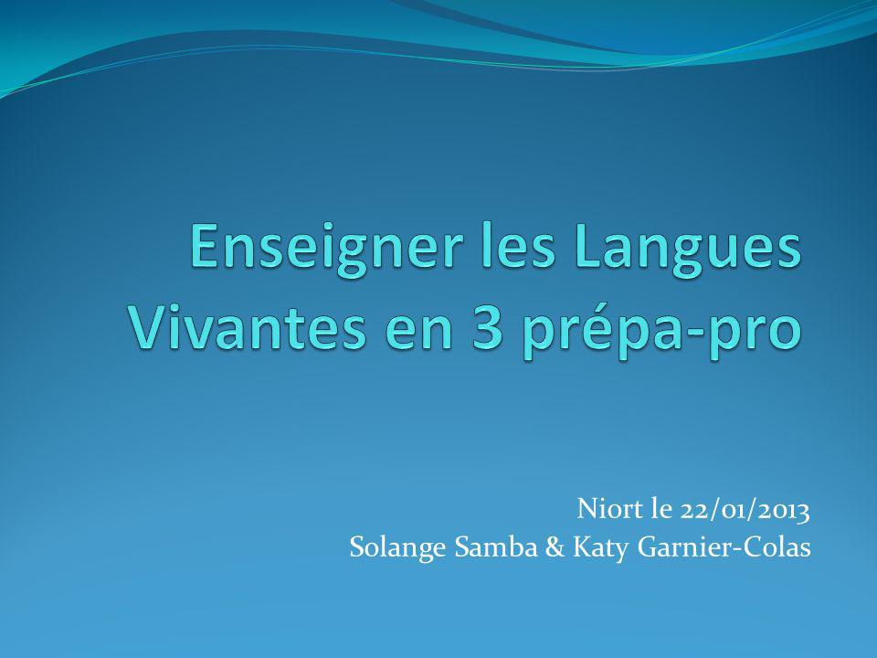 Niort le 22/01/2013 Solange Samba & Katy Garnier-Colas