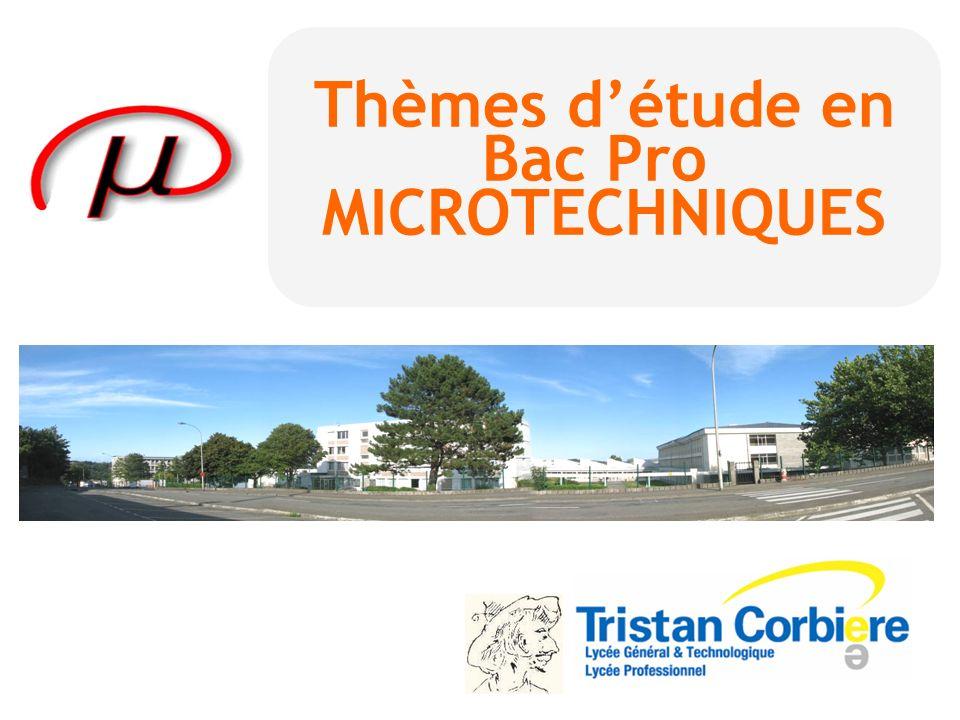 BAC PRO Microtechniques 2 ème année