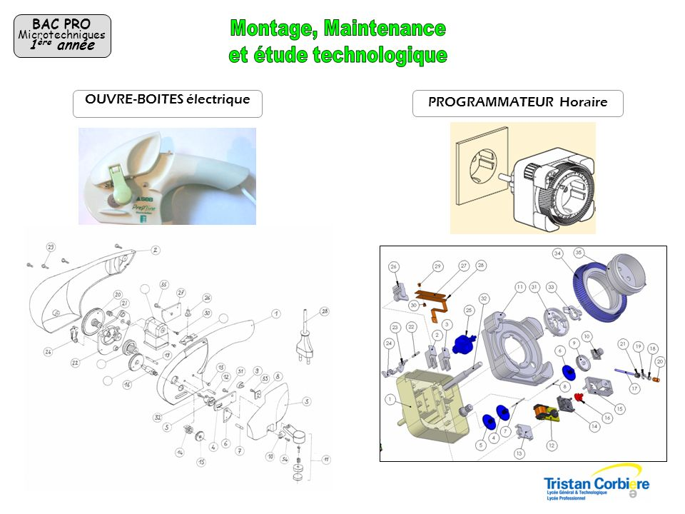 Fabrication sur centre dusinage,Tour à commande numérique et machines conventionnelles BAC PRO Microtechniques 1 ère année Tournevis «Microtech.» Porte-clef