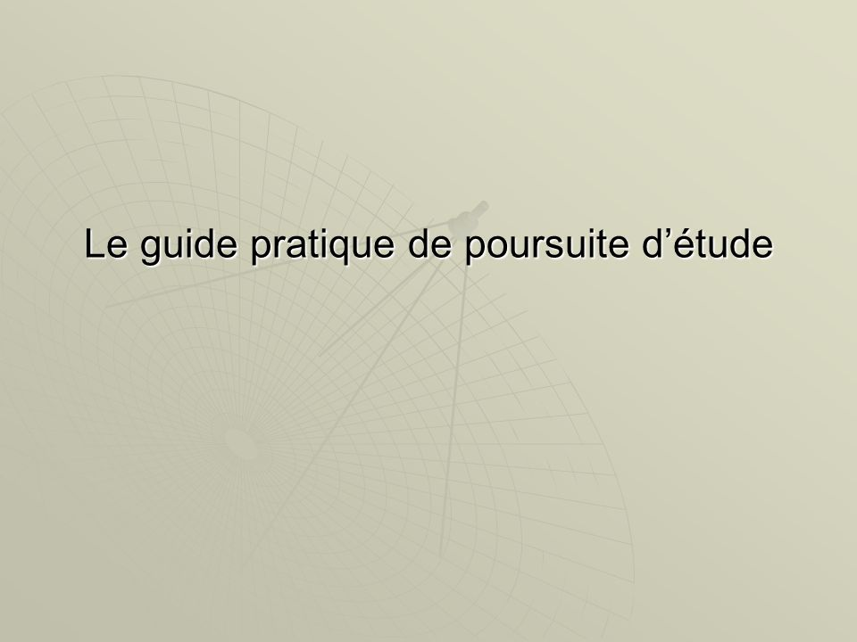 Le guide pratique de poursuite détude