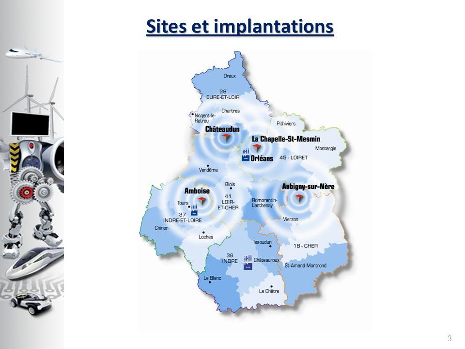 Sites et implantations 3