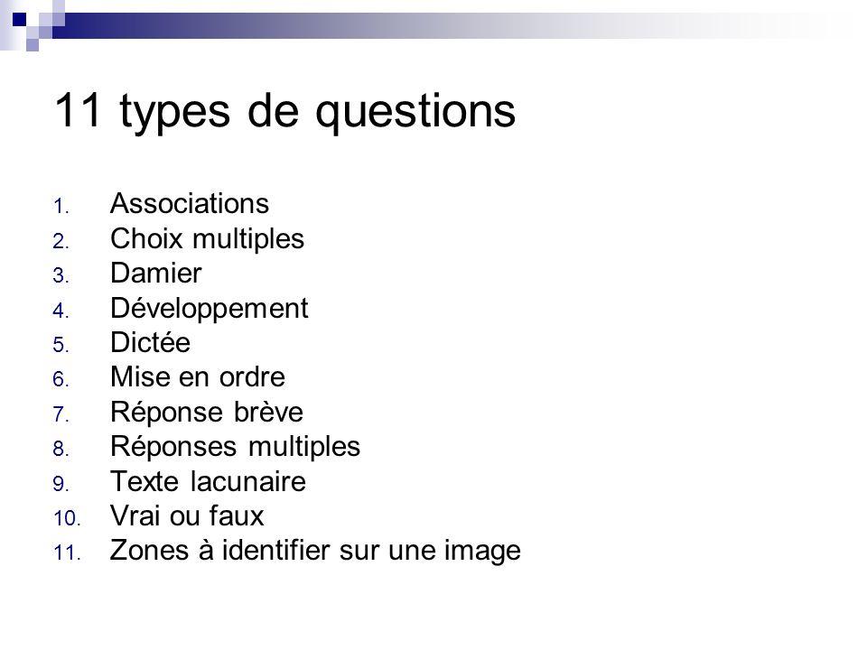 11. Zones à identifier sur une image Identifier les différents éléments dune image