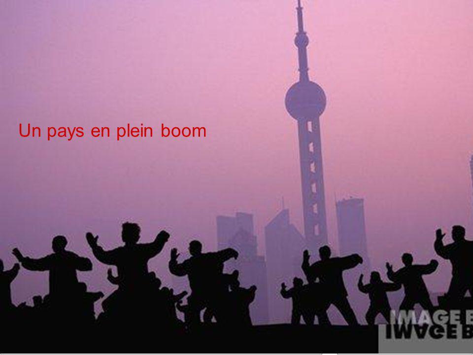 Un pays en plein boom