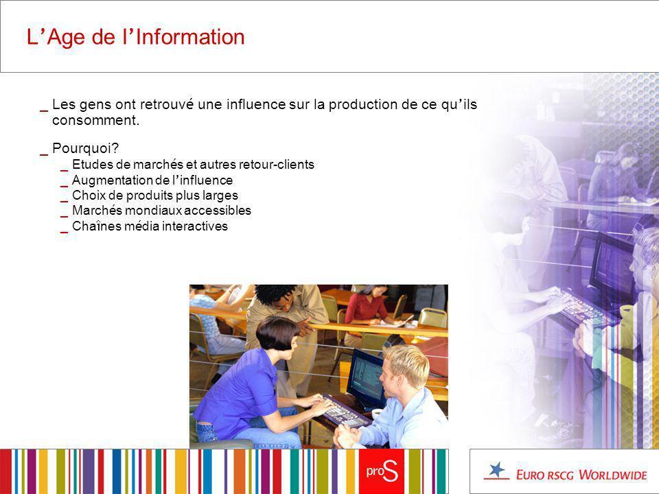 L Age de l Information _ Les gens ont retrouv é une influence sur la production de ce qu ils consomment.