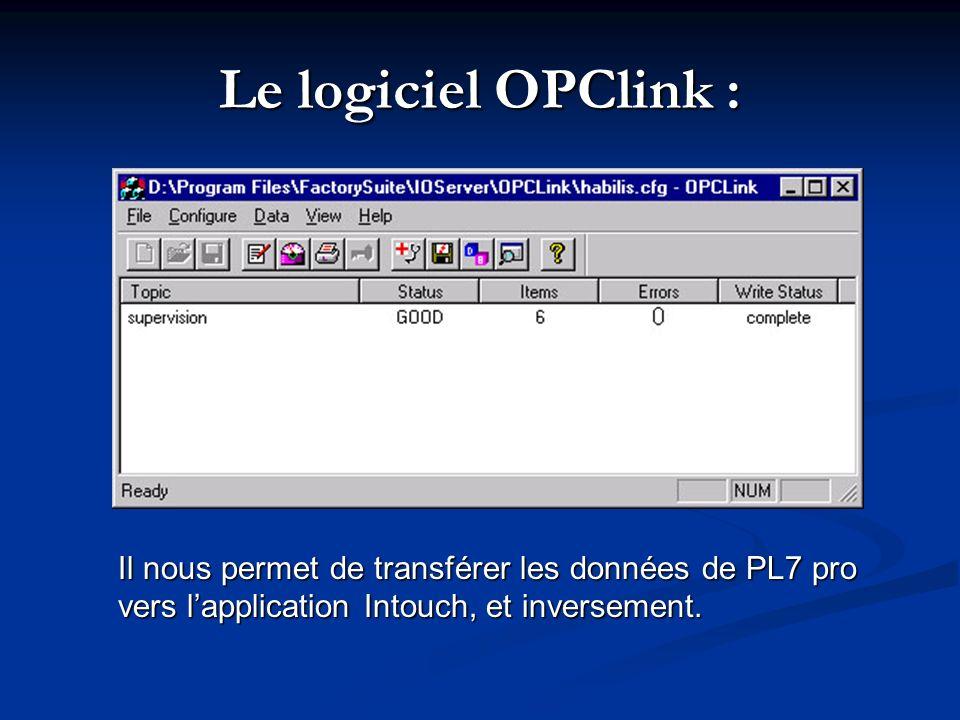 Le driver XIP: Il permet de communiquer avec lautomate depuis PL7 pro : il nous permet de transférer le programme dans la mémoire centrale de lAPI, de