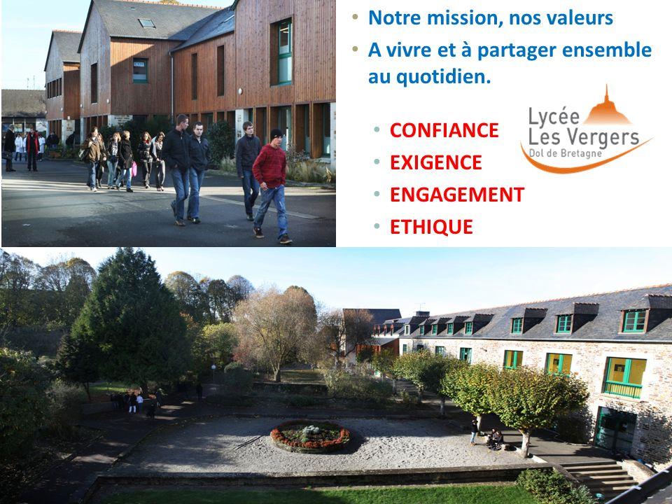 Notre mission, nos valeurs A vivre et à partager ensemble au quotidien. CONFIANCE EXIGENCE ENGAGEMENT ETHIQUE