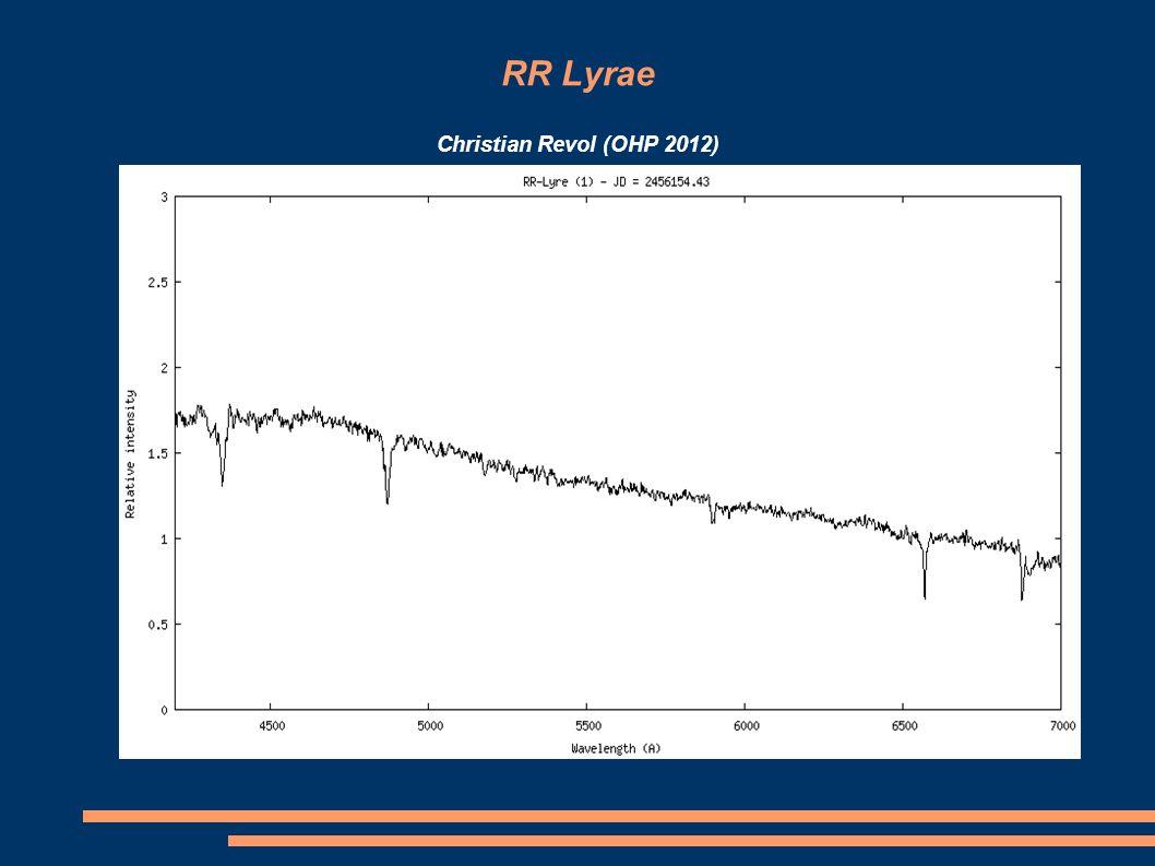 RR Lyrae Christian Revol (OHP 2012)